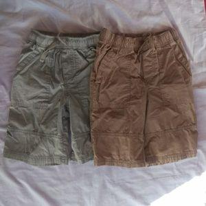 Circo boys khaki shorts bundle